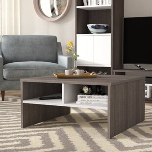 Best Price Frederick Storage Coffee Table with Magazine Rack By Latitude Run