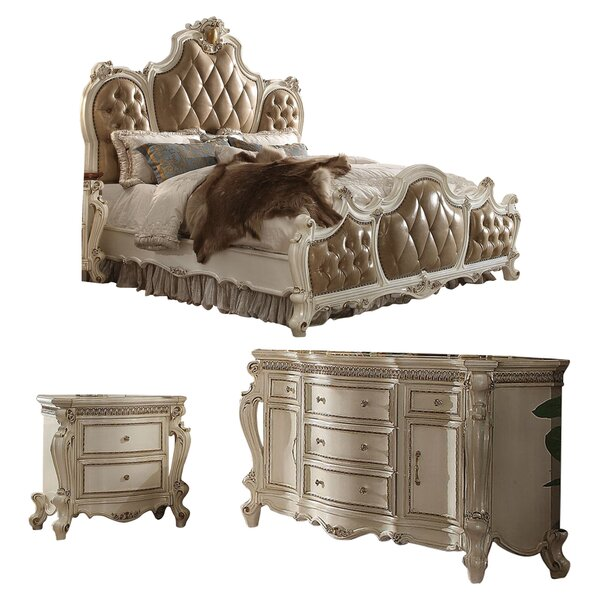 Cowart Panel Configurable Bedroom Set by Fleur De Lis Living