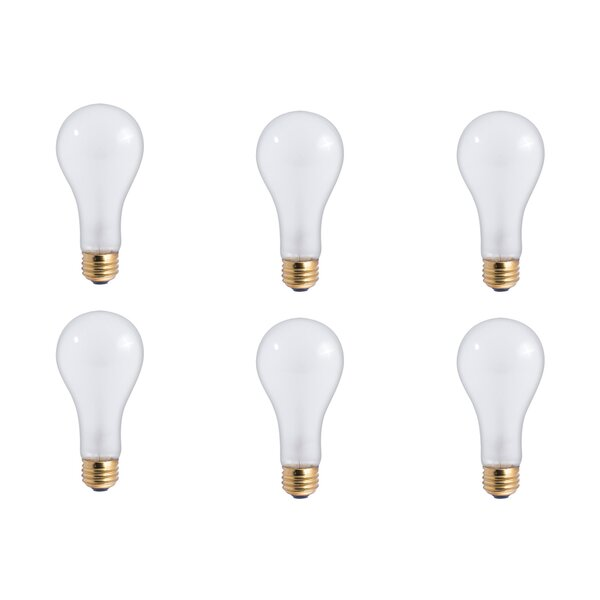200W E26 Dimmable Incandescent Light Bulb Frosted (Set of 12) by Bulbrite Industries