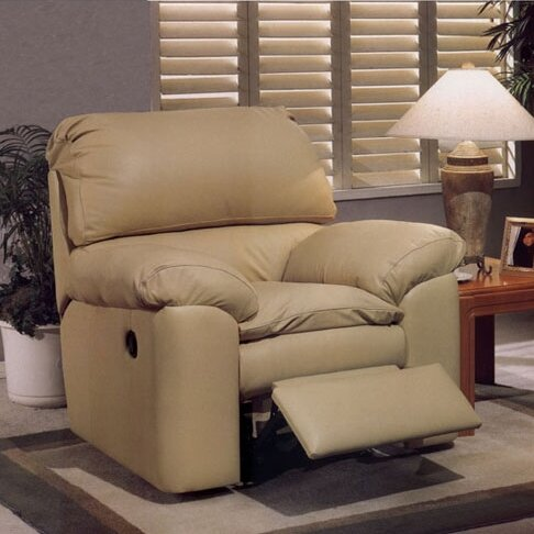 Catera Leather Power Lift Assist Recliner by Omnia Leather