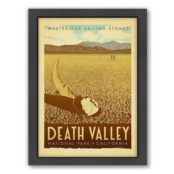 National Park Death Valley Framed Vintage Advertisement by East Urban Home