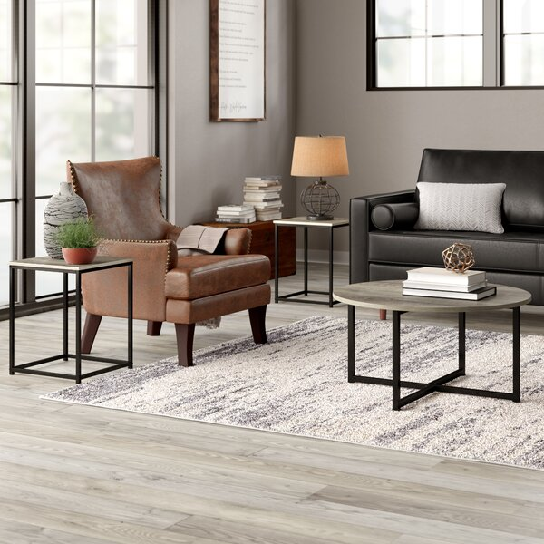 Kleinschmidt 3 Piece Coffee Table Set