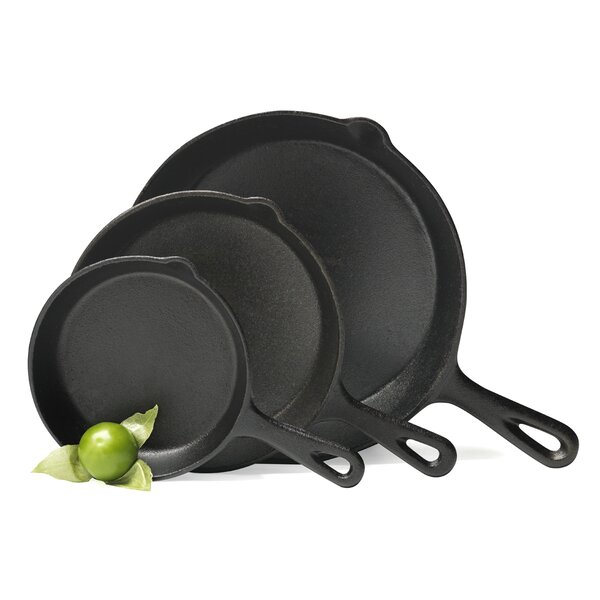 3 Piece Fry Pan Set by Basic Essentials