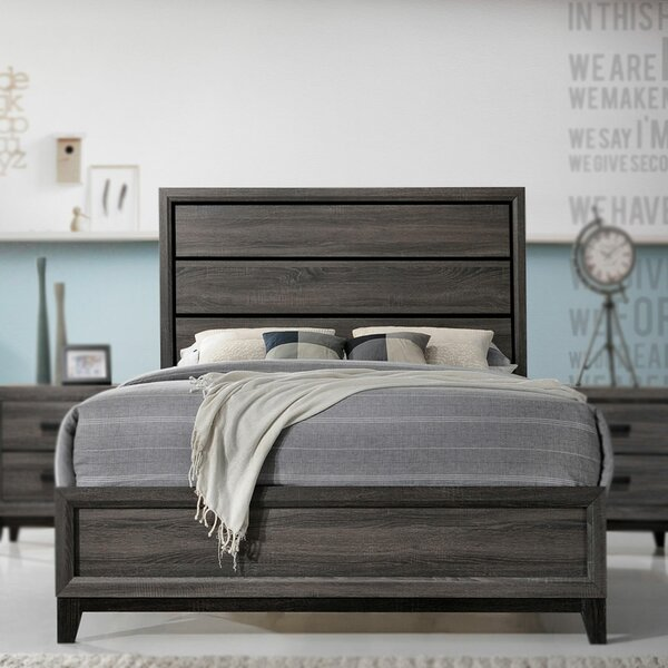 Crum Standard Bed by Union Rustic