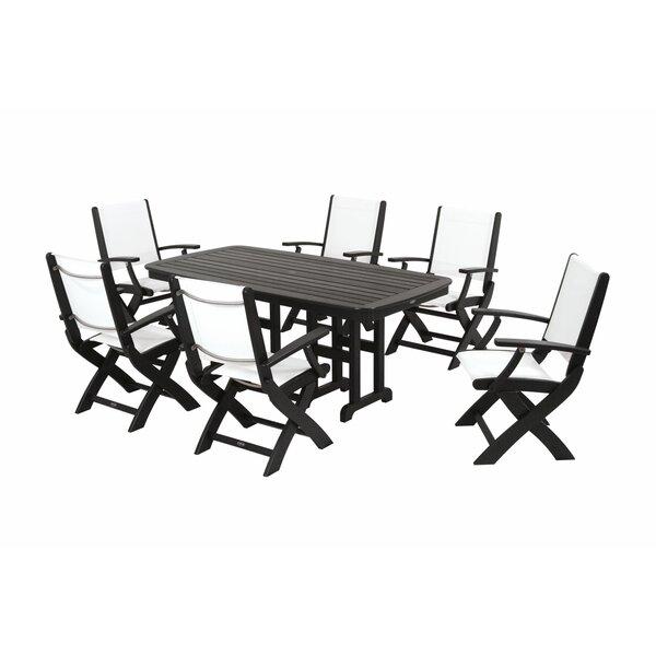 Coastal 7 Piece Dining Set by POLYWOOD®