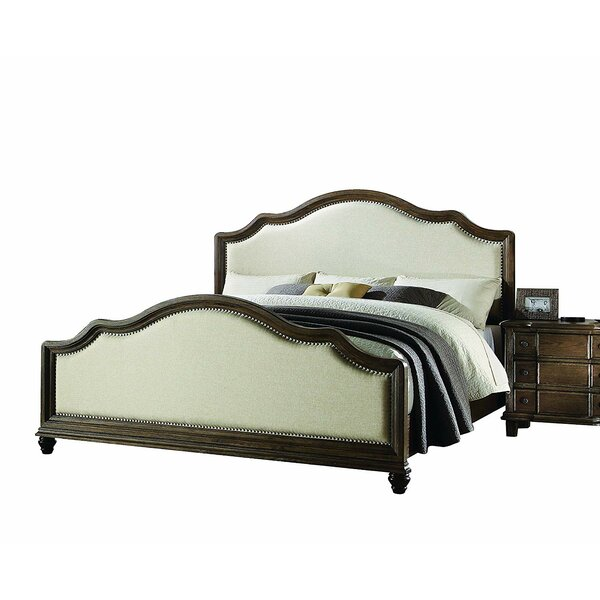 Burmeister Eastern King Upholstered Standard Bed by Canora Grey