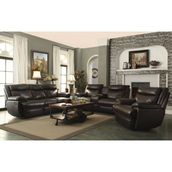 Hayter Reclining Motion 3 Piece Living Room Set by Red Barrel Studio