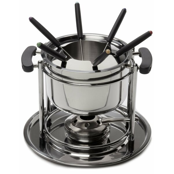 11 Piece Stainless Steel Fondue Set by Cook Pro