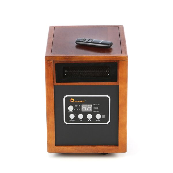 1,500 Watt Portable Electric Infrared Cabinet Heater by Dr. Infrared Heater