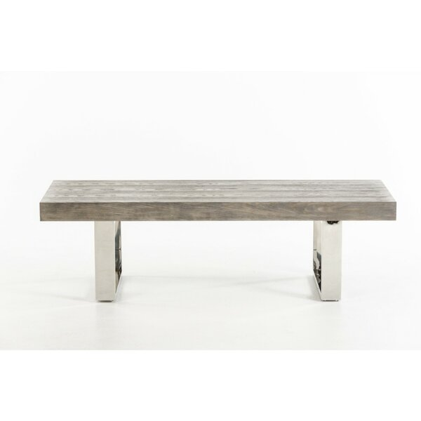 Clinger Wood Bench by Brayden Studio