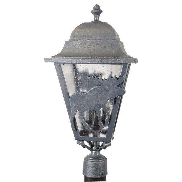 Penfield Moose Series 3 Light 25 Post Lantern by Alcott Hill