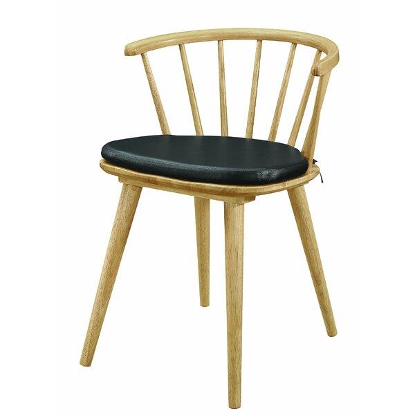 Brathwaite Windsor Back Side Chair In Black (Set Of 2) By Gracie Oaks