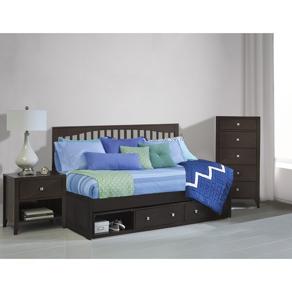 Alvarado Mission Twin Daybed with Drawers by Harriet Bee