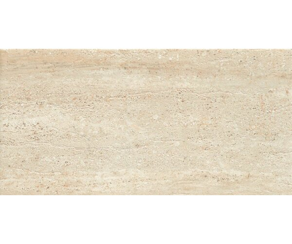 Travertini 18 x 36 Porcelain Field Tile in Beige by Samson