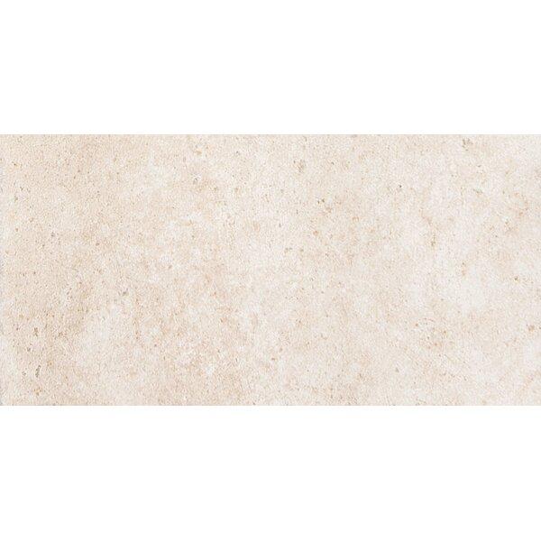 Newberry 8 x 4 Porcelain Corner Piece Tile Trim in Bianco by Emser Tile