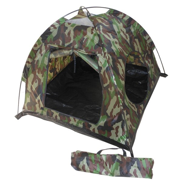 Camoflauge Play Tent with Carrying Bag by Kid's Adventure