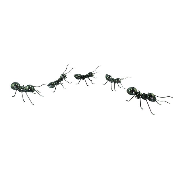 Polystone and Metal 5 Piece Ant Figurine Set by Cole & Grey