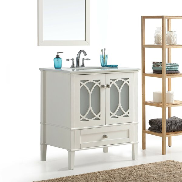 Paige 37 Single Bathroom Vanity Set by Simpli Home