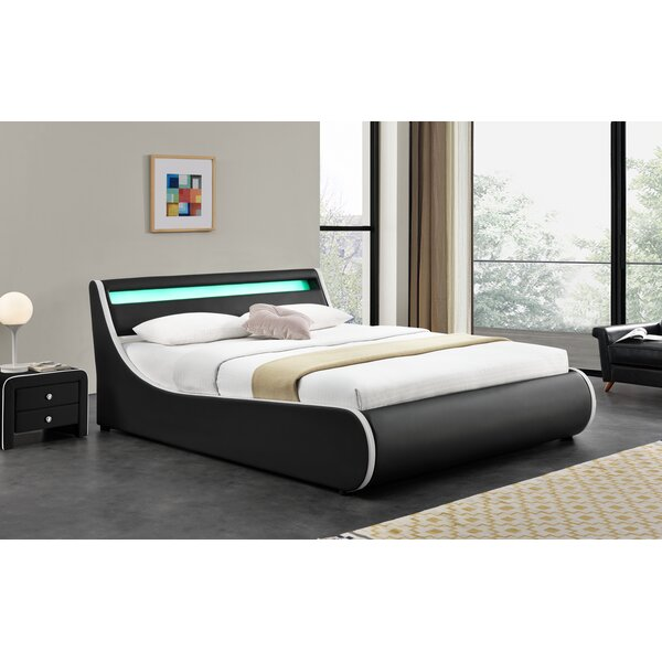 Truitts Faux Leather Upholstered Storage Platform Bed by Orren Ellis