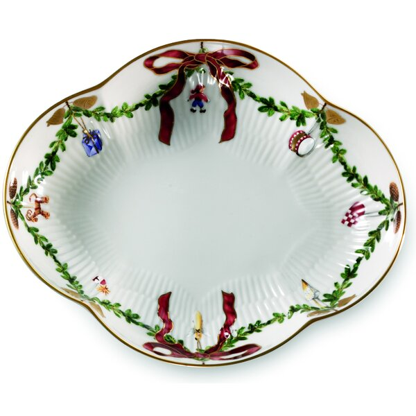 Star Fluted Christmas Accent Dish by Royal Copenhagen