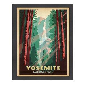 Yosemite National Park Framed Vintage Advertisement by East Urban Home
