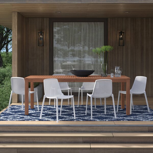 Claudio 9 Piece Dining Set by Mercury Row