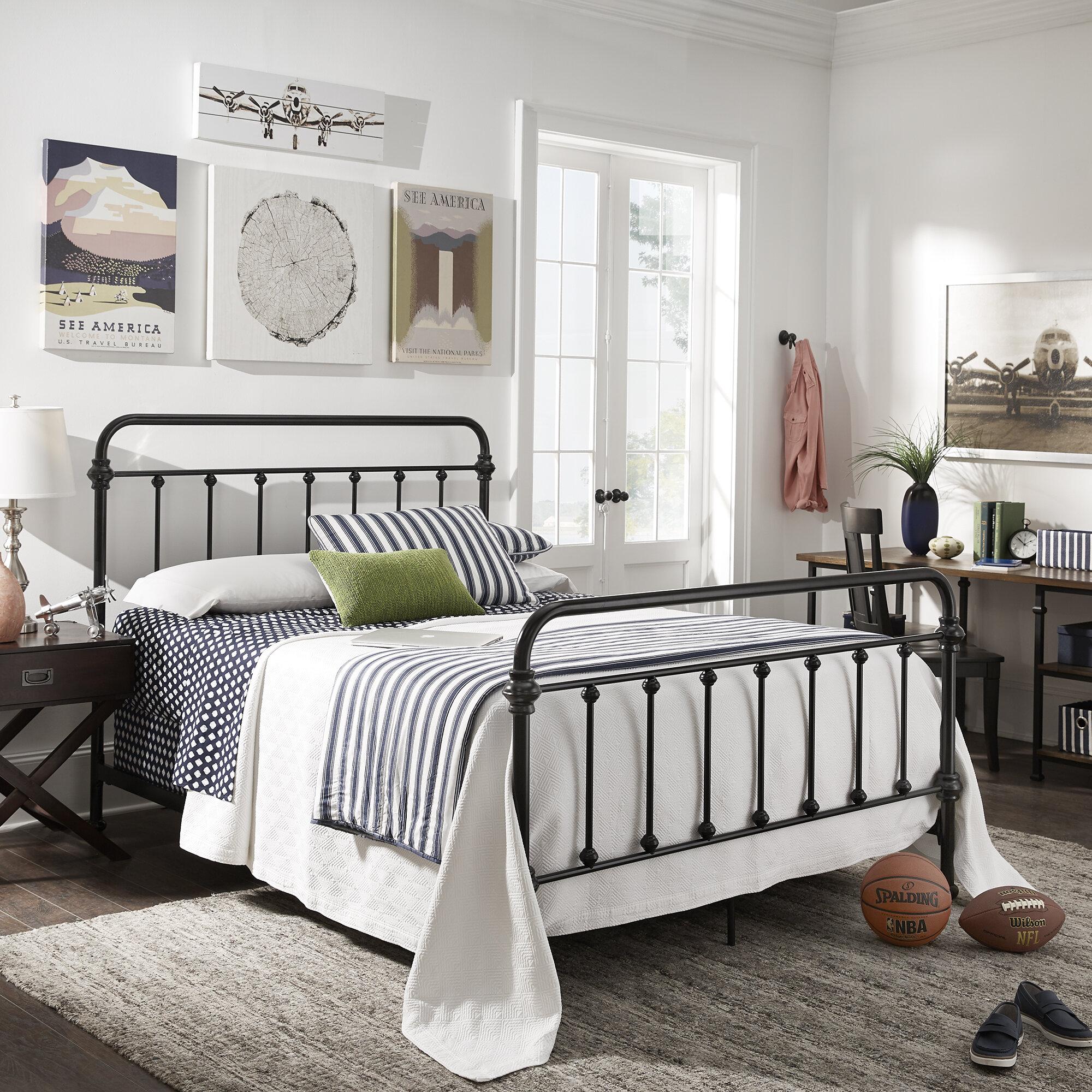 Clarissa Panel Bed