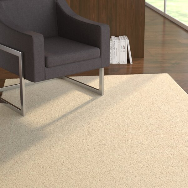 Aspasia Ivory Area Rug by Ebern Designs