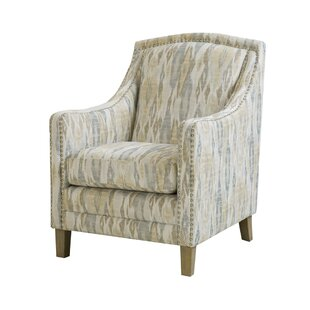 Lakewood Nailhead Armchair by Bungalow Rose