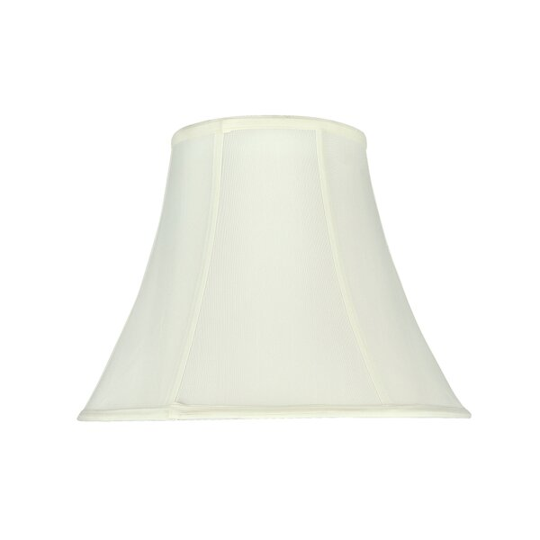 14 Tetoron Cotton Fabric Bell Lamp Shade by August Grove