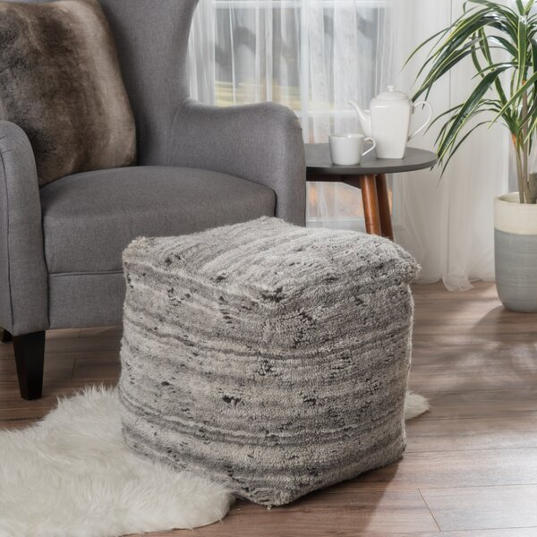 Amoroso Pouf by Mercury Row