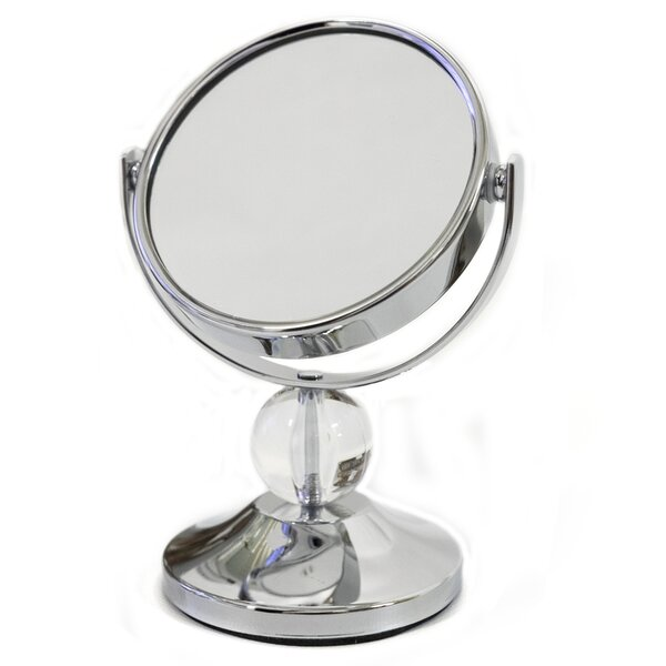 Crystal Ball Mini Dual Sided Vanity Mirror by Sweet Home Collection