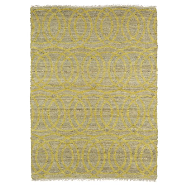 Jamaris Yellow Area Rug by Bloomsbury Market