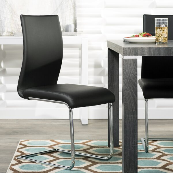 Alva Upholstered Dining Chair (Set of 2) by Ebern Designs