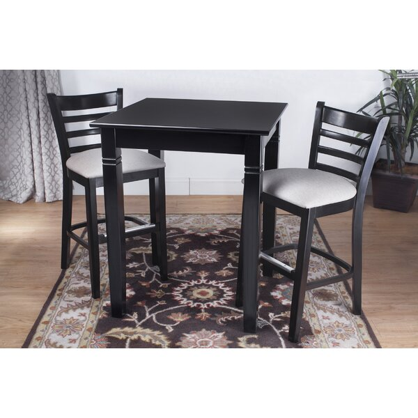 Littrell 3 Piece Pub Table Set by Winston Porter Winston Porter