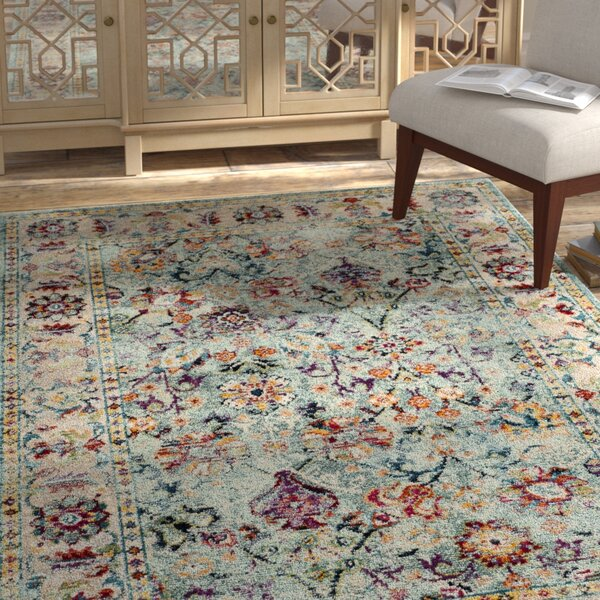 Mcintosh Blue Area Rug  by Bloomsbury Market