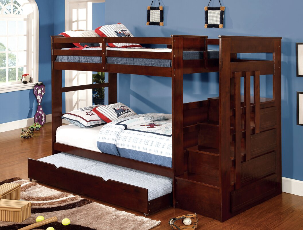 Ordinary Twin Bunk Beds With Storage Part - 7: Monsiac Twin Bunk Bed With Storage
