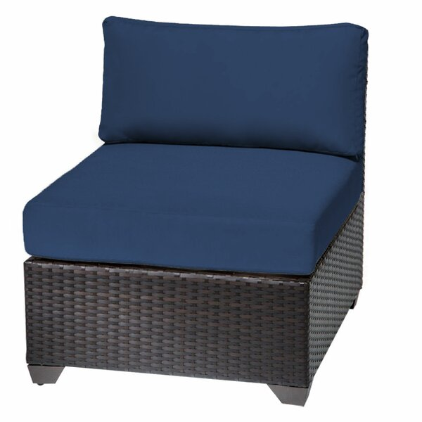 Slipper Patio Chair with Cushions by TK Classics