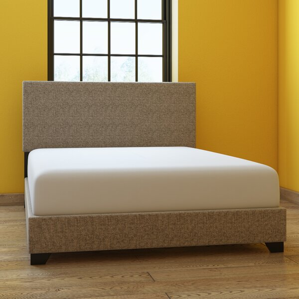 Eleven Avenue Queen Upholstered Panel Bed by Wrought Studio