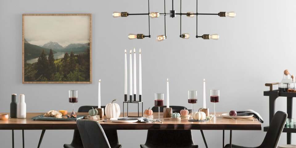 Riaria 7-Light Shaded Chandelier
