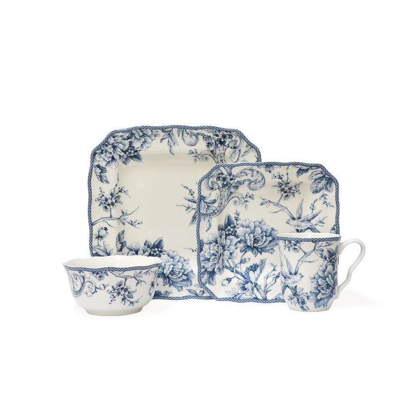 Christmas Lights Shop Adelaide: 222 Fifth Adelaide 16 Piece Dinnerware Set, Service For 4