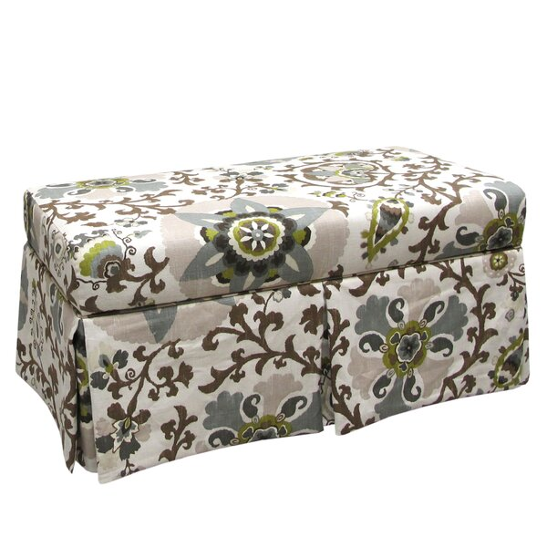 Thurston Fabric Storage Bench by Alcott Hill