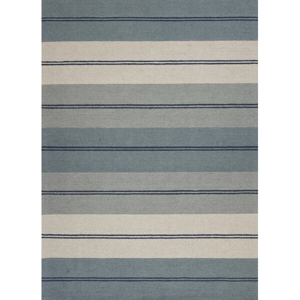 Graciela Hand-Tufted Ivory/Blue Area Rug by Zipcode Design
