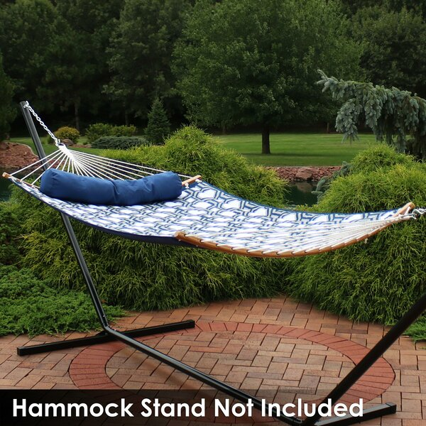 Misner Solid Tree Double Spreader Bar Hammock by Breakwater Bay Breakwater Bay