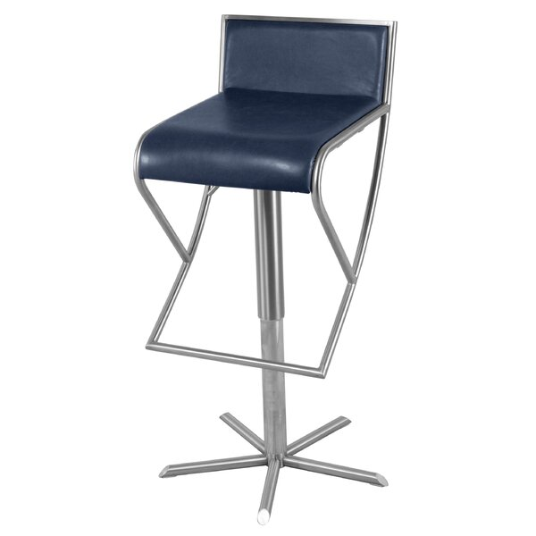 Steineckert Adjustable Height Bar Stool by Latitude Run