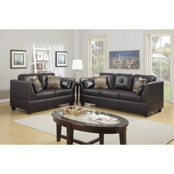 Donovan 2 Piece Living Room Set by Alcott Hill
