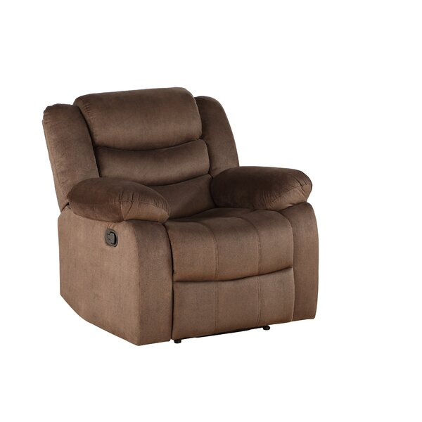 Siena Manual Recliner Red Barrel Studio W001157684