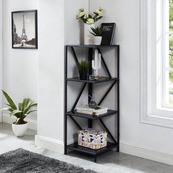 Vizcarrondo Corner Bookcase By 17 Stories