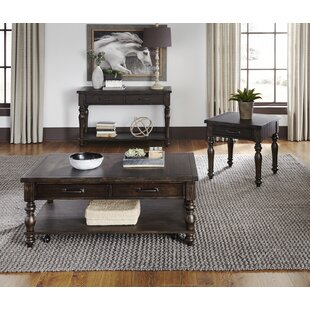 Tower 3 Piece Coffee Table Set By Charlton Home