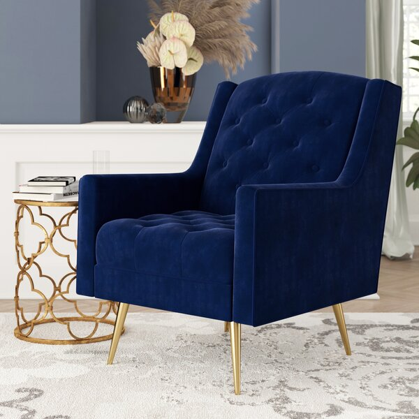 Hubbard Wingback Chair by Mercer41 Mercer41